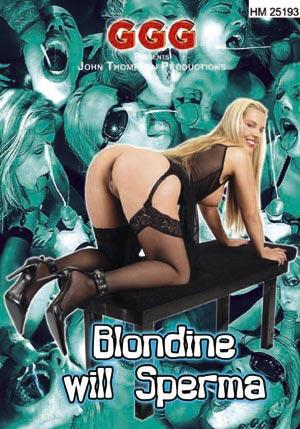 Blondes veux du sperme frais