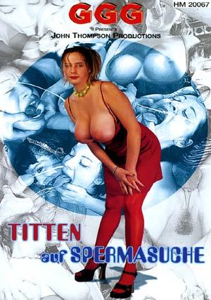 Sperme sur seins naturels