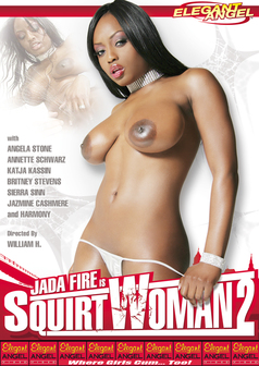Jada Fire is Squirtwoman #2