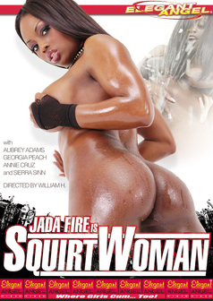 Jada Fire is Squirtwoman #1