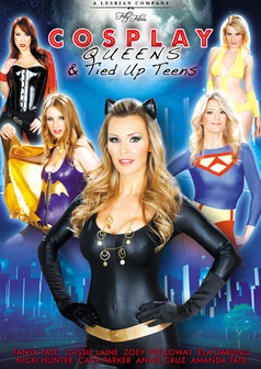 Tanya Tate's Cosplay Queens and Tied Up Teens #1