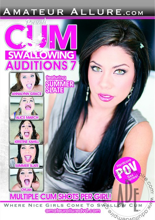Cum Swallowing Auditions Vol. 7