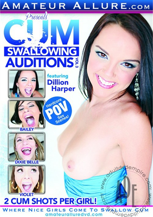 Cum Swallowing Auditions Vol. 3