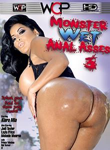 Monster Wet Anal Asses #03