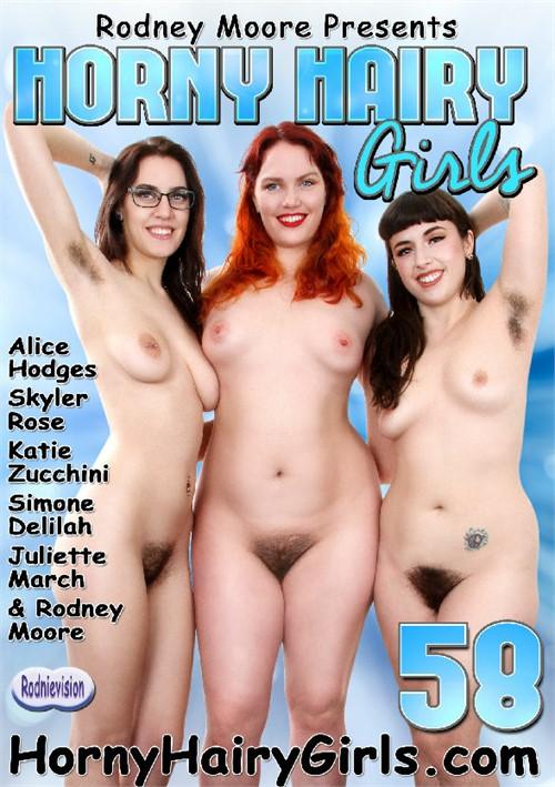 Horny Hairy Girls #58