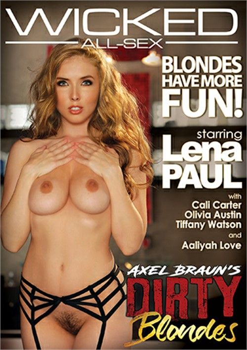 Axel Braun's Dirty Blondes DVD