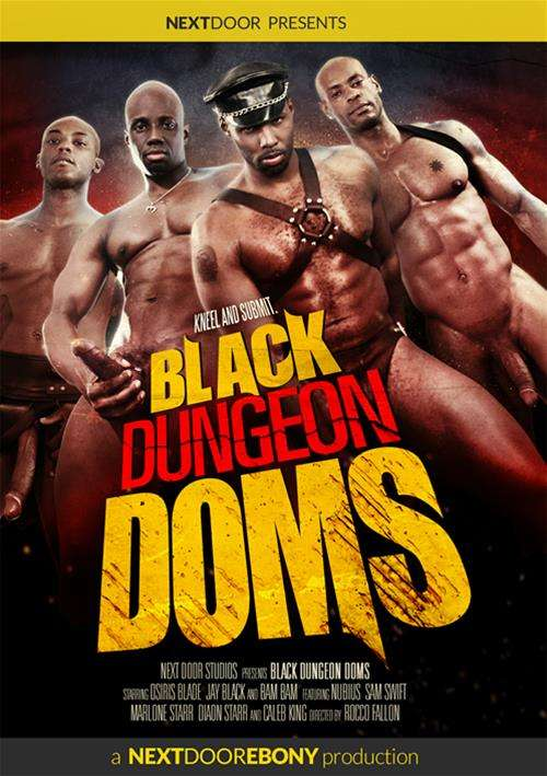 Black Dungeons Doms DVD