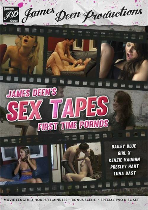 James Deen's Sex Tapes: First Time Pornos