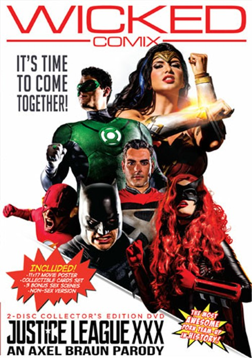Justice League XXX An Axel Braun Parody DVD