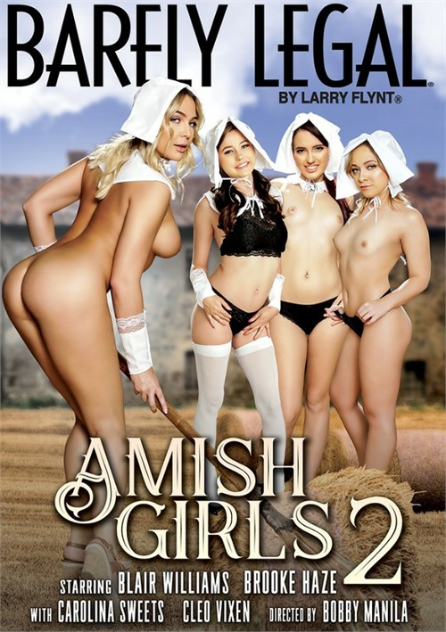 Barely Legal Amish Girls #2 DVD