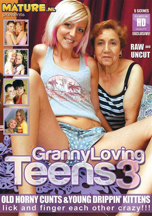 Granny Loving Teens #3