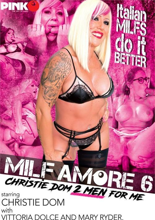 MILF Amore #6: Christie Dom 2 Men For Me