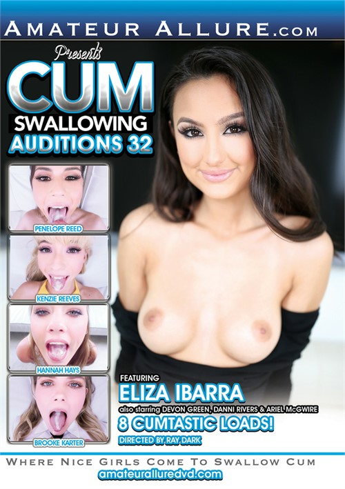 Cum Swallowing Auditions #32