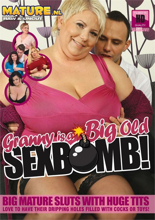 Granny Is A Big Old Sex Bomb!