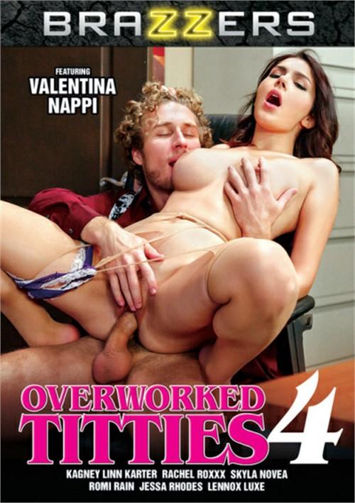 Overworked Titties #4 DVD