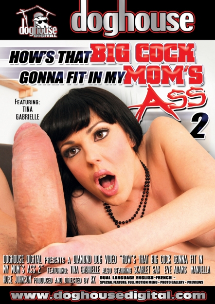 How's That Big Cock Gonna Fit In My Mom's Ass #02