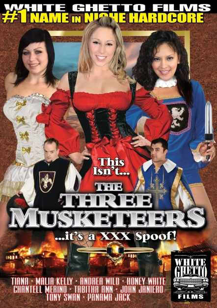 This Isn't The Three Musketeers - It's A XXX Spoof!