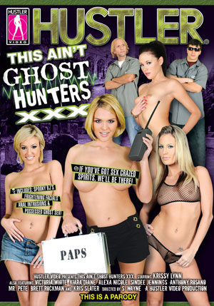 This Ain't Ghost Hunters XXX DVD