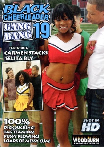 Black Cheerleader Gang Bang #19