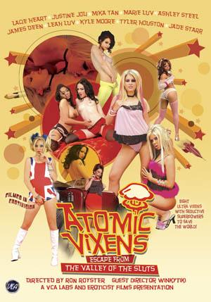 Atomic Vixens DVD