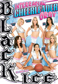 Interracial Cheerleader Orgy
