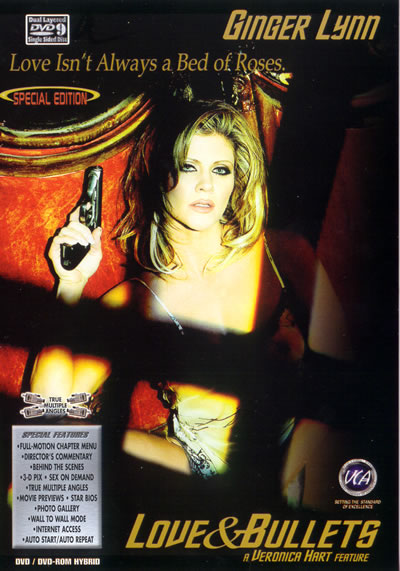 Ginger Lynn 4 on 1: Love and Bullets DVD