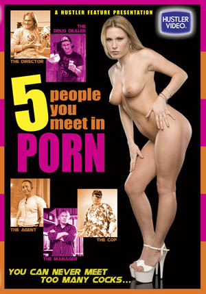 5 People You Meet in Porn DVD