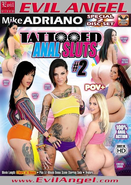 Tattooed Anal Sluts #02