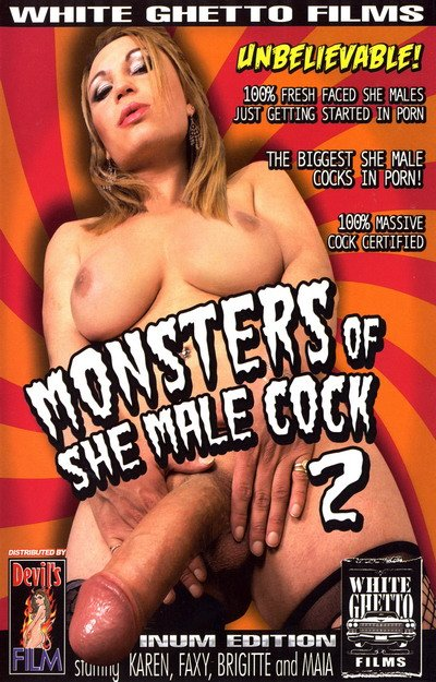 Monsters Of She Male Cock #02