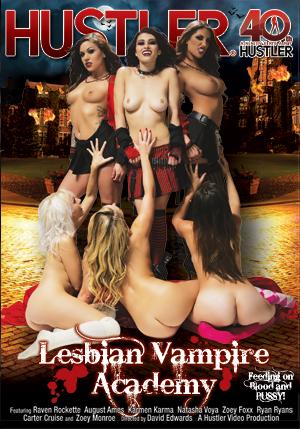 Lesbian Vampire Academy DVD