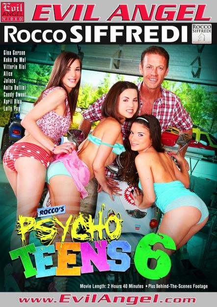 Rocco's Psycho Teens #06 DVD