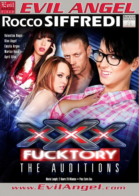 XXX Fucktory - The Auditions DVD