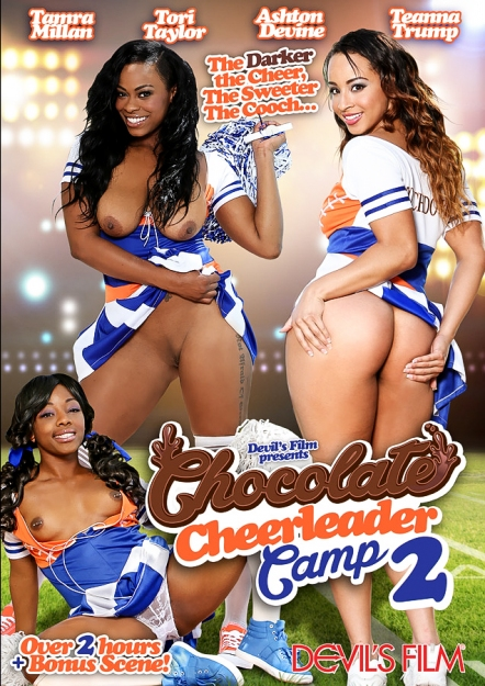Chocolate Cheerleader Camp #02