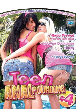 Teen Anal Pounding #4