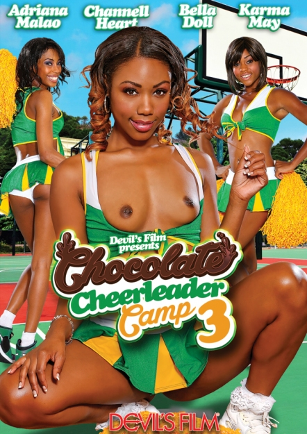 Chocolate Cheerleader Camp #03