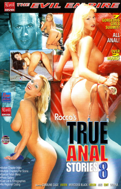 True Anal Stories #08 DVD