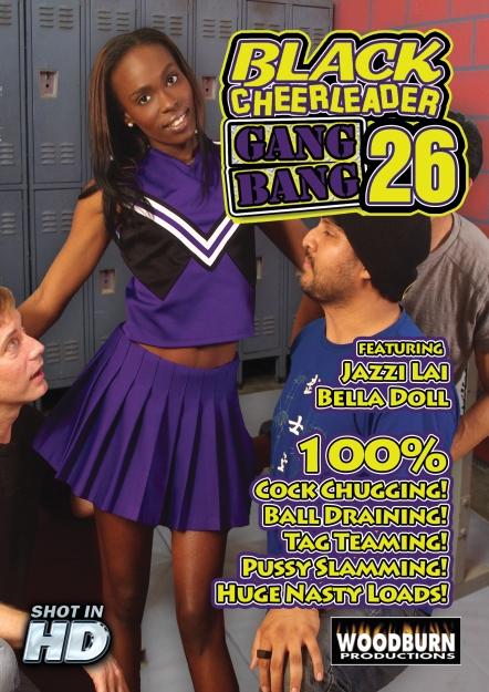 Black Cheerleader Gang Bang #26