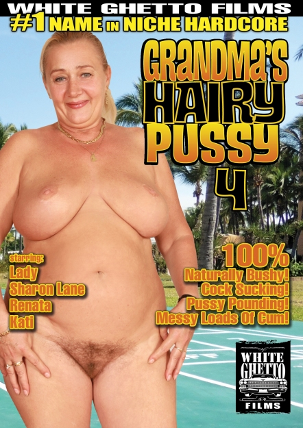 Grandma's Hairy Pussy #04