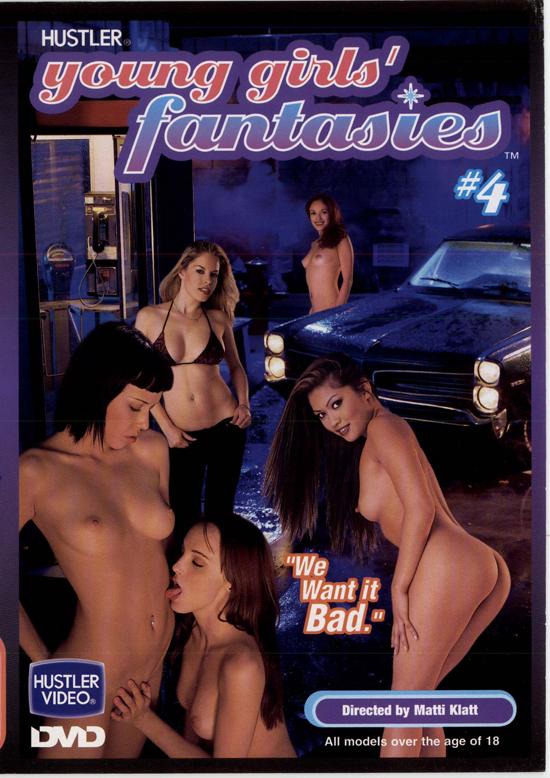 Young Girls' Fantasies #4 DVD