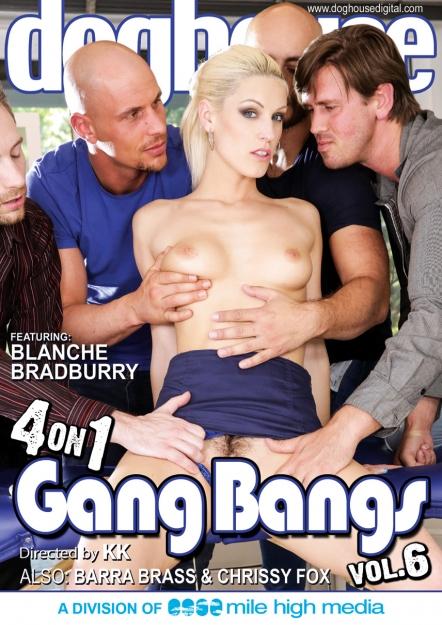 4 On 1 Gang Bangs #06