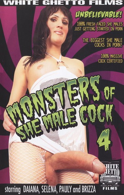 Monsters Of She Male Cock #04