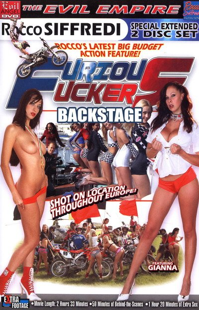 Backstage Furious Fuckers DVD