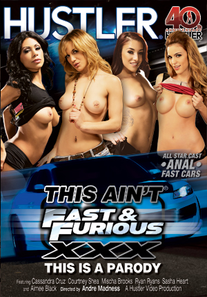 This Ain't Fast and Furious XXX DVD