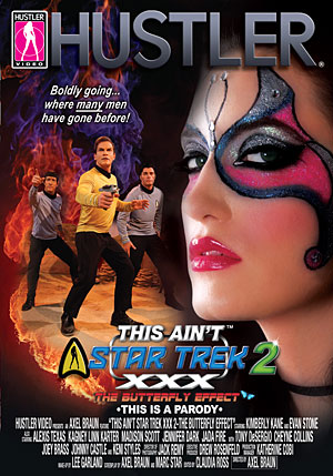 This Ain't Star Trek XXX #2: The Butterfly Effect DVD