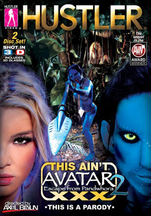 This Ain't Avatar XXX #2: Escape from Pandwhora DVD