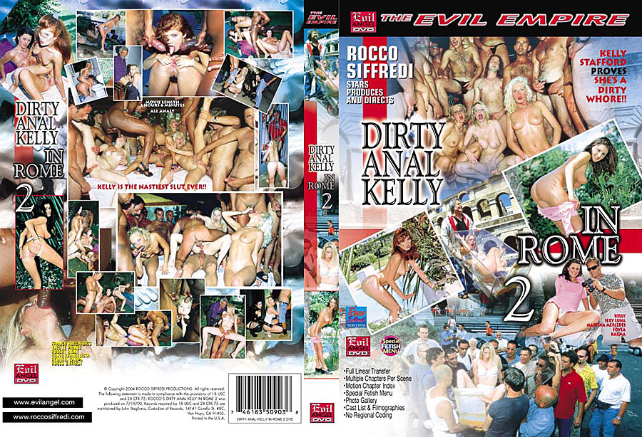 Dirty Anal Kelly in Rome 2