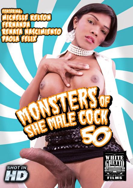 Monsters Of TGirl Cock #50 DVD