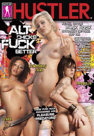 Alt Chicks Fuck Better DVD
