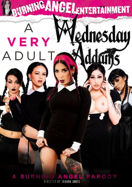 A Very Adult Wednesday Addams
