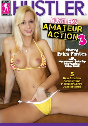 Hustler's Amateur Action #3 DVD